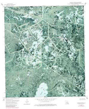 Carencro Bayou USGS topographic map 29091d1