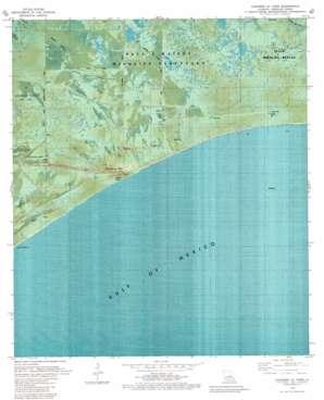 Cheniere Au Tigre USGS topographic map 29092e2