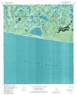 Rollover Lake topo map