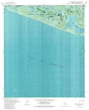Big Constance Lake topo map