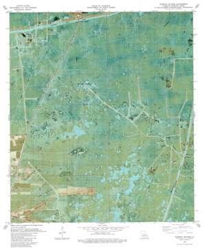 Pumpkin Islands USGS topographic map 29092f3