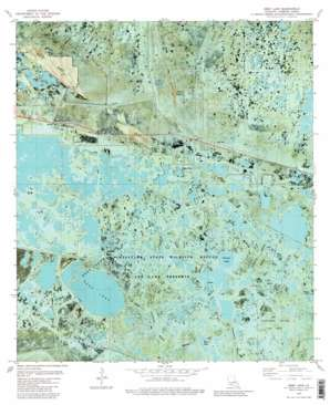 Deep Lake USGS topographic map 29092f6
