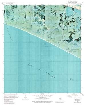 Hog Bayou topo map