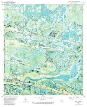 Grand Cheniere USGS topographic map 29092g8