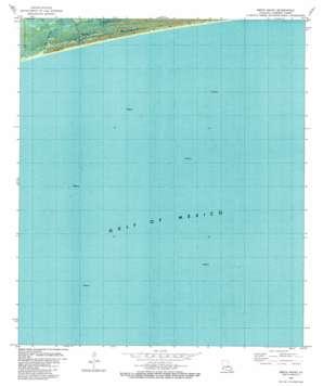 Smith Bayou topo map