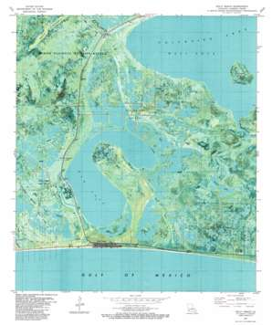 Holly Beach USGS topographic map 29093g4