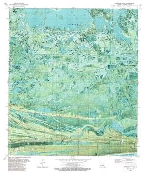 Johnsons Bayou USGS topographic map 29093g6
