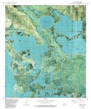 Sweet Lake topo map