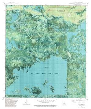 Five Lakes USGS topographic map 29093h5