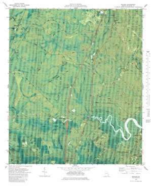 Eulonia topo map
