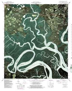 Burroughs topo map