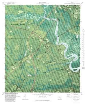 Richmond Hill topo map