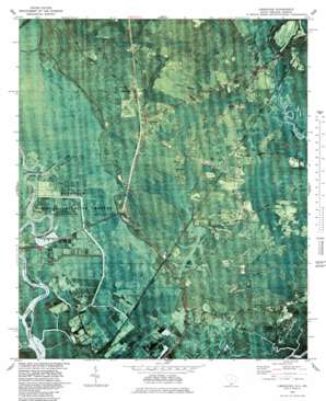 Limehouse topo map