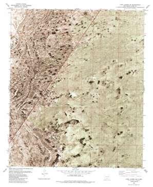 Lake Lucero SE USGS topographic map 32106e3