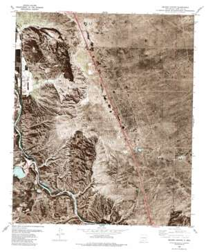 Seldon Canyon topo map
