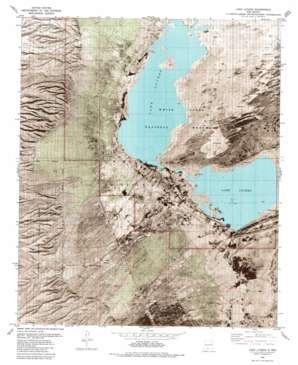 Lake Lucero topo map