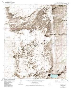 Lost River topo map