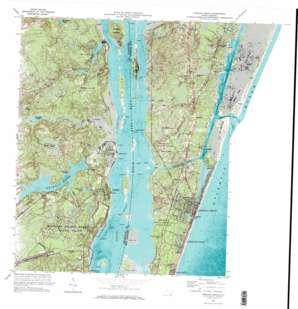 Carolina Beach topo map
