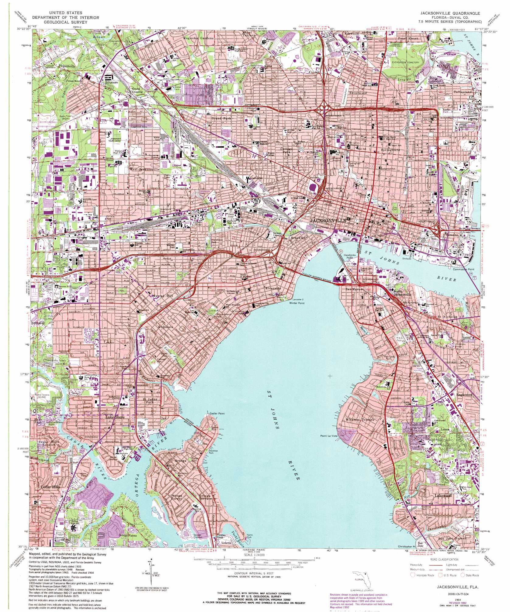 Fl Topographic Map.Topographic Map Of Jacksonville Florida Www Sham Store