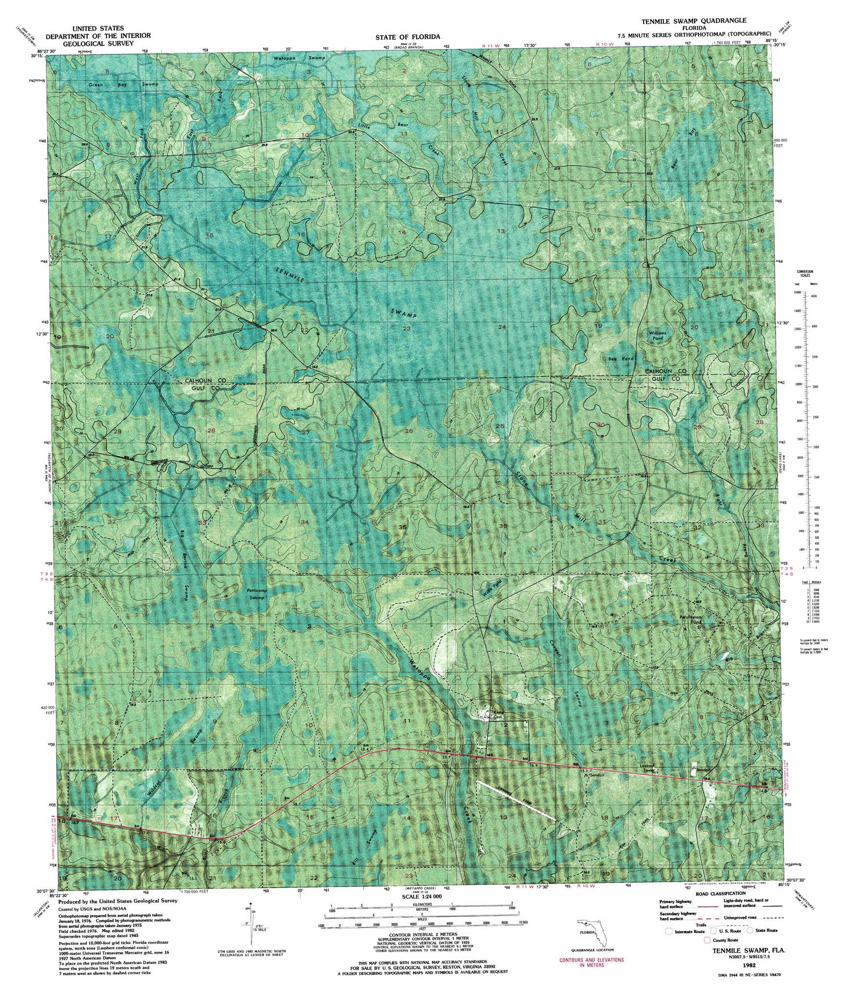 USGS HydroSHEDS William Cronon  Handout  Introduction To - Topographic map of us states