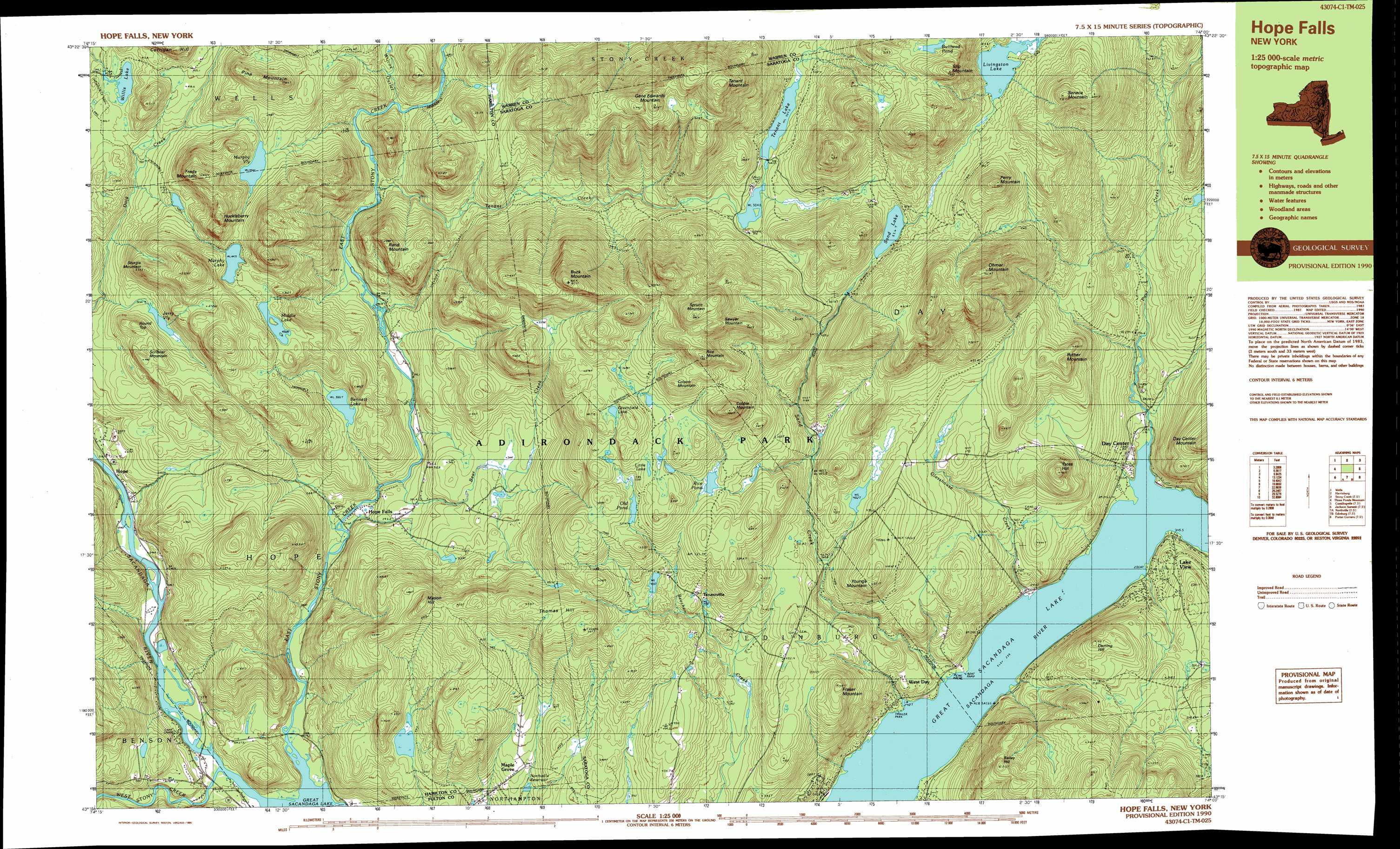 Ohmer Mountain Topographic Map NY USGS Topo Quad C - Nyc map topographic