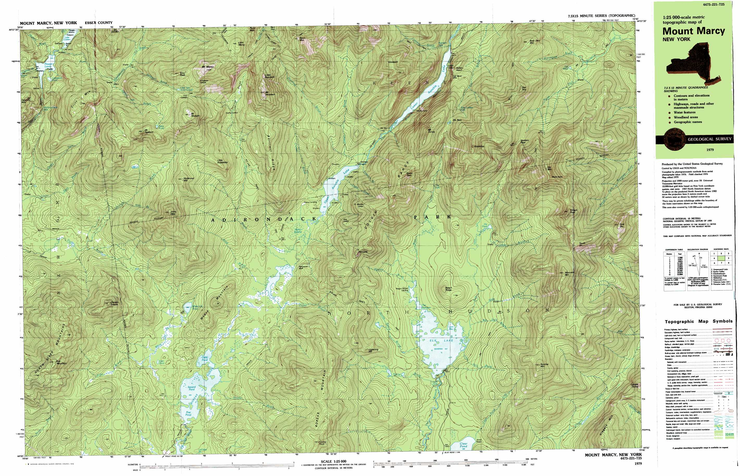 topographic map Examine the topographic map  the following list provides some guidelines for effectively constructing a topographic profile and uses the topographic map and.