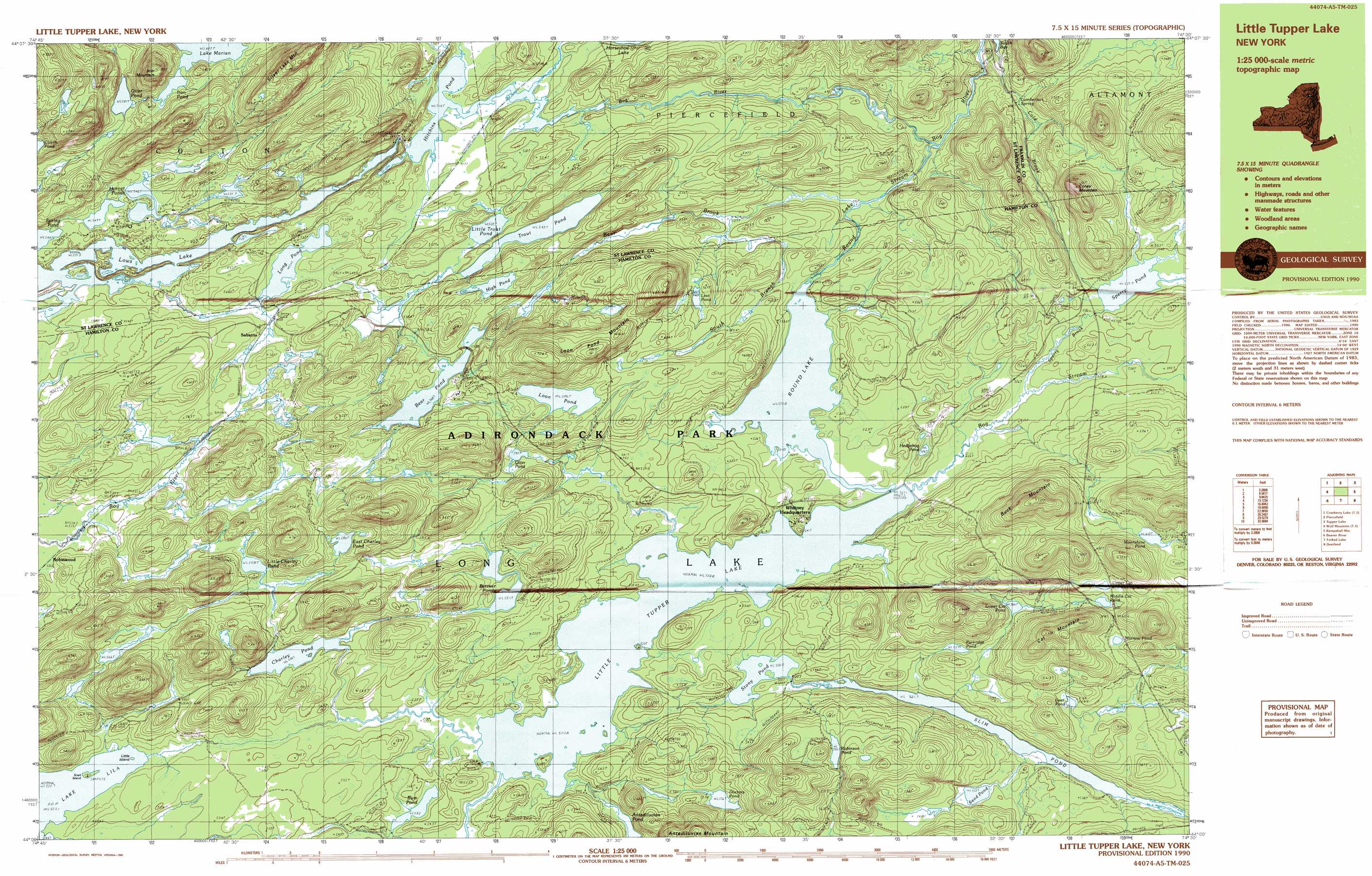 Slim Pond Topographic Map NY USGS Topo Quad A - Nyc map topographic
