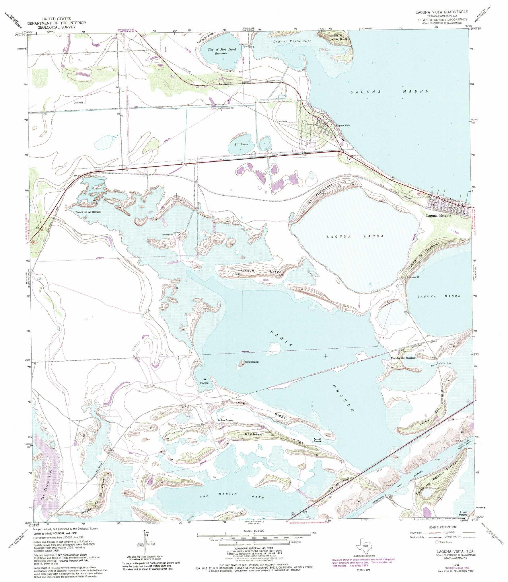 Laguna Vista topographic map, TX - USGS Topo Quad 26097a3 on map of la vernia tx, map of ingleside tx, map of pleasanton tx, map of st hedwig tx, map of george west tx, map of lufkin tx, map of la feria tx, map of raymondville tx, map of gun barrel city tx, map of humble tx, map of camp wood tx, map of uvalde tx, map of rio grande city tx, map of leakey tx, map of groves tx, map of katy tx, map of rocksprings tx, map of henderson tx, map of harlingen tx, map of lindale tx,