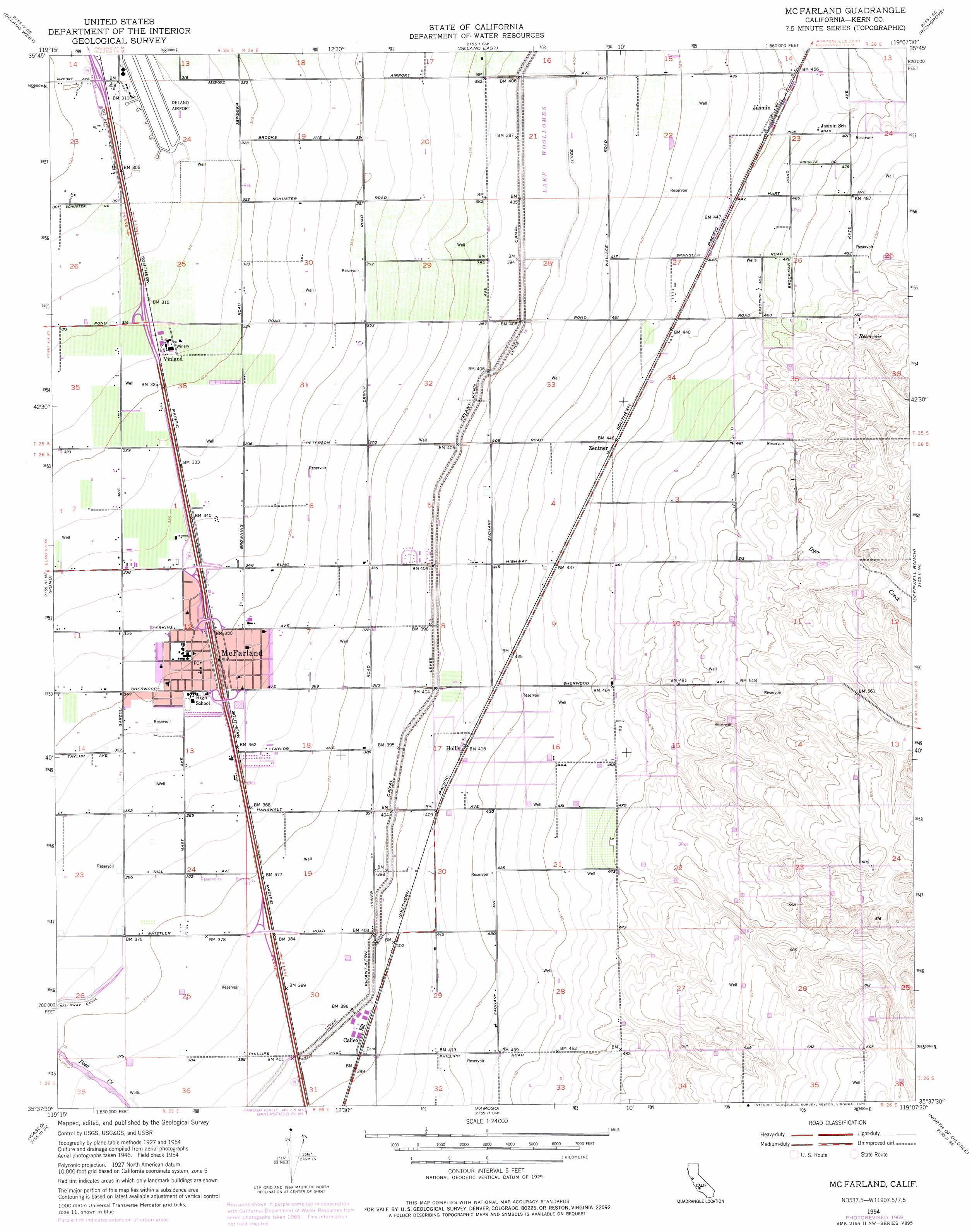 Vinland Map High Resolution Mcfarland topographic ...