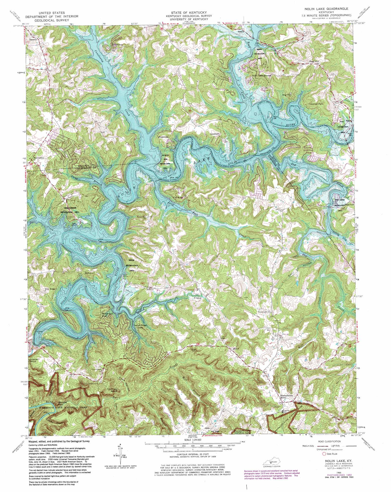nolin lake. nolin lake topographic map ky  usgs topo quad c