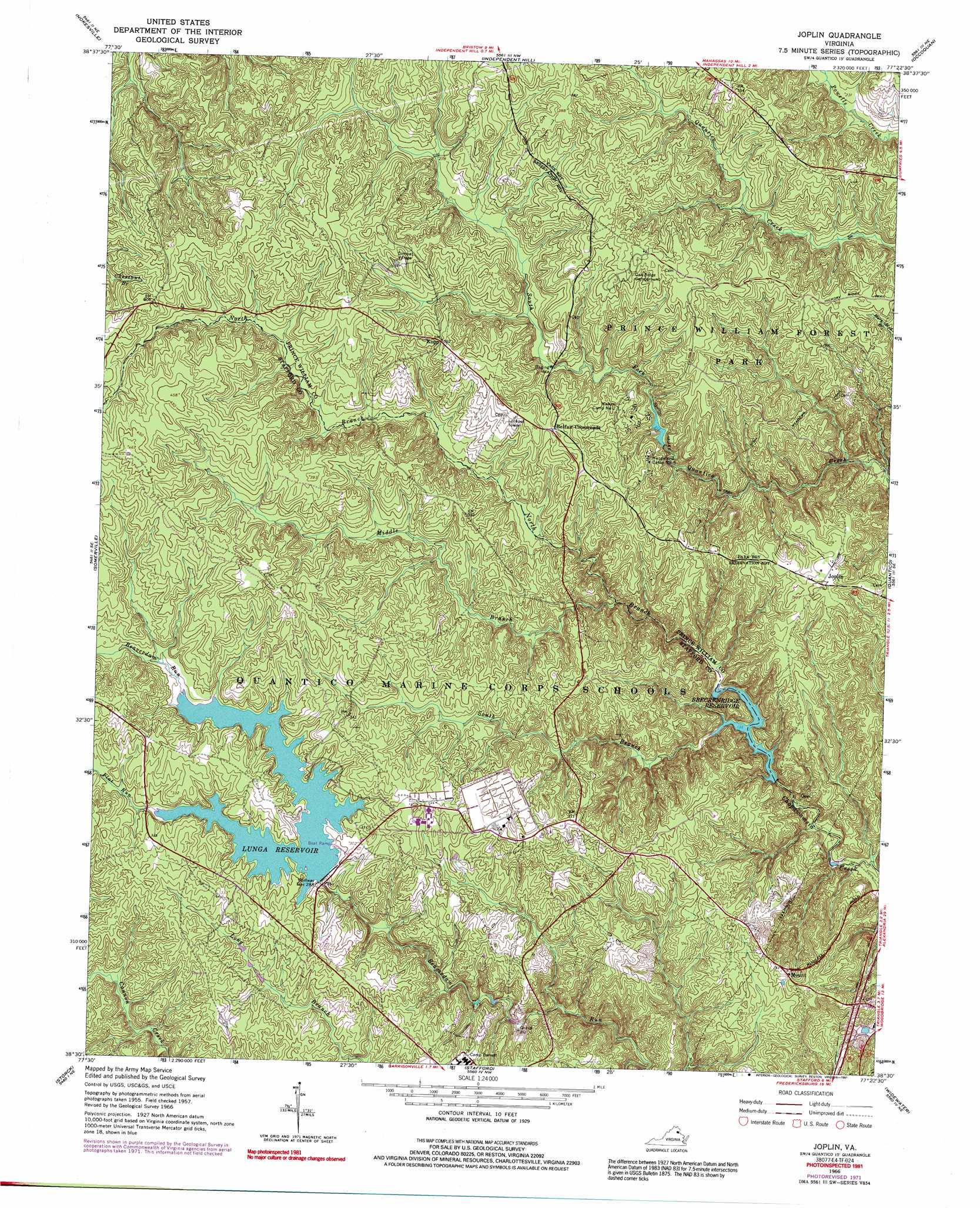 Joplin Topographic Map Va Usgs Topo Quad 38077e4