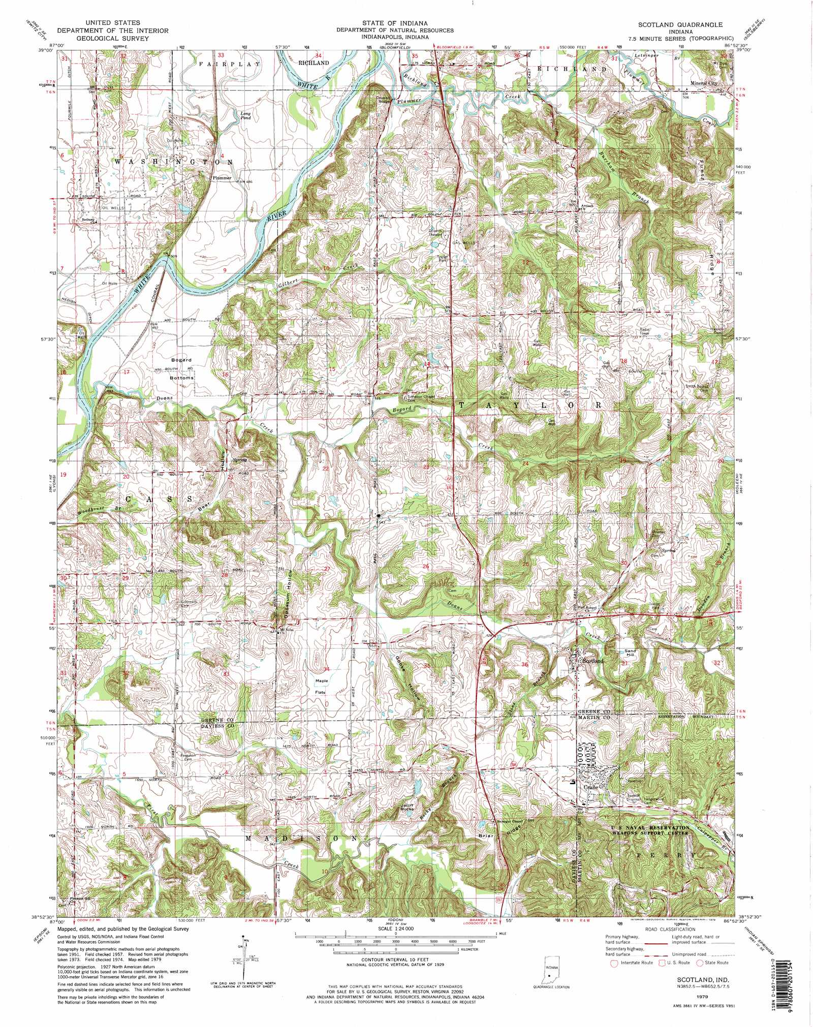 Scotland Topographic Map IN USGS Topo Quad H - Usgs topographic maps online