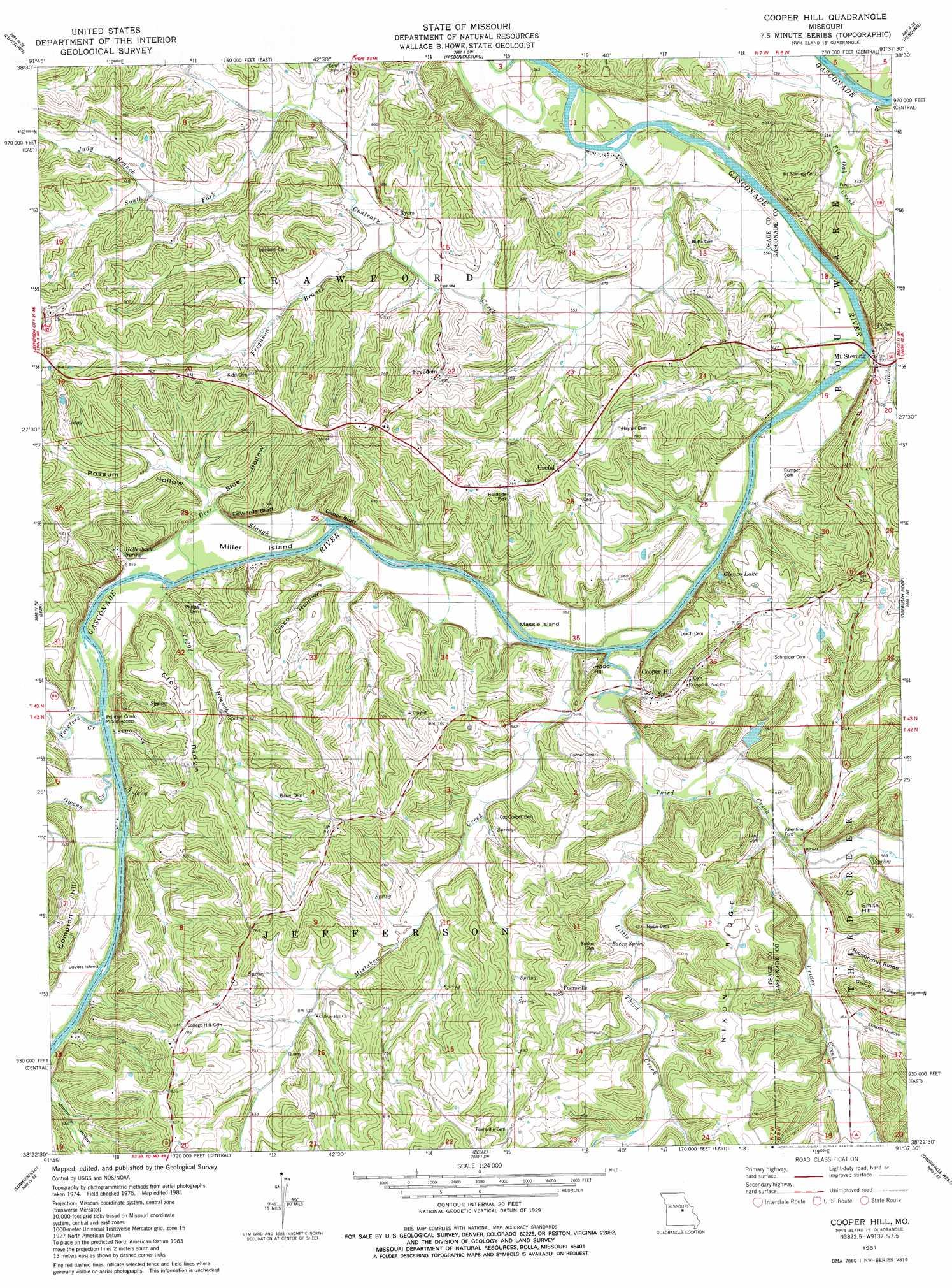517dd7cda72d Cooper Hill topographic map, MO - USGS Topo Quad 38091d6
