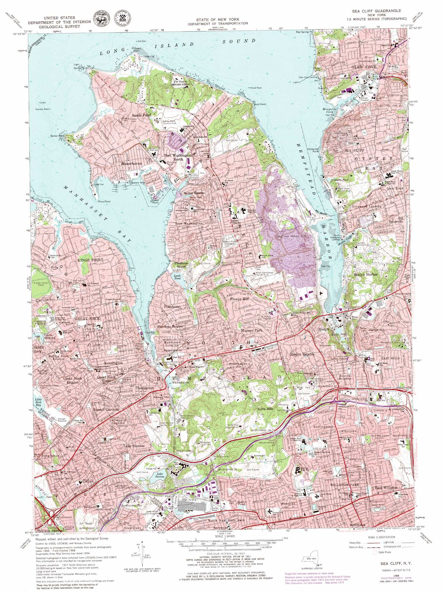 Cliff On A Topographic Map.Sea Cliff Topographic Map Ny Usgs Topo Quad 40073g6