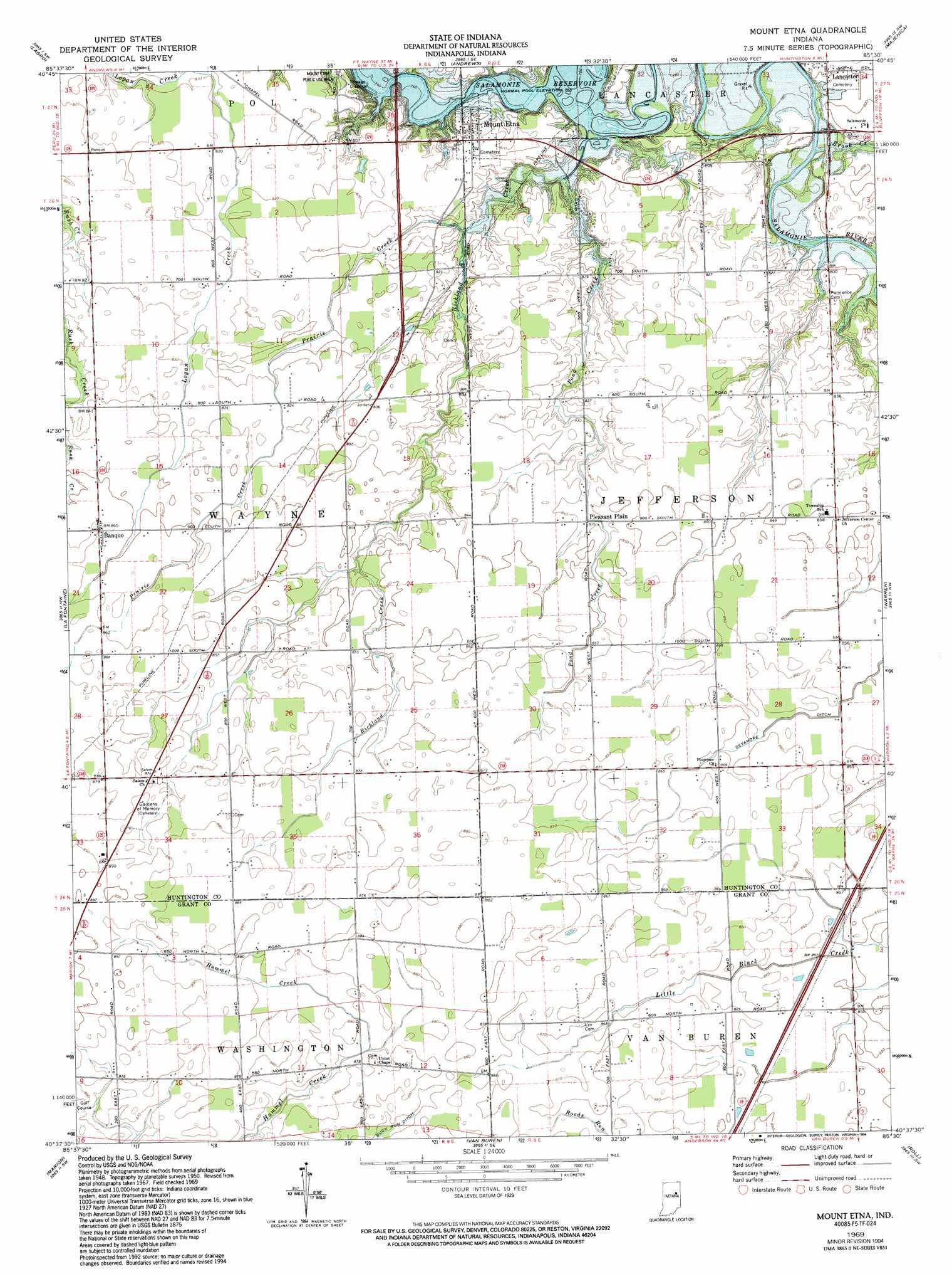 Etna Ohio Map Www Imagessure Com