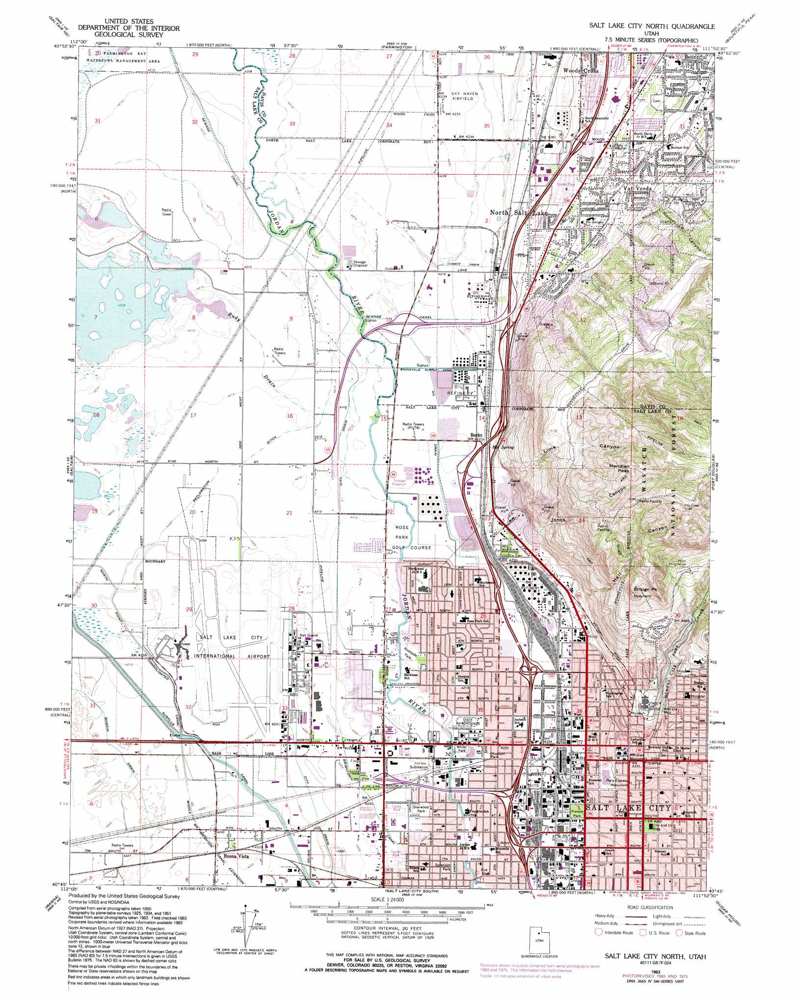 Large Salt Lake City Maps For Free Download And Print High Great - Great salt lake us map