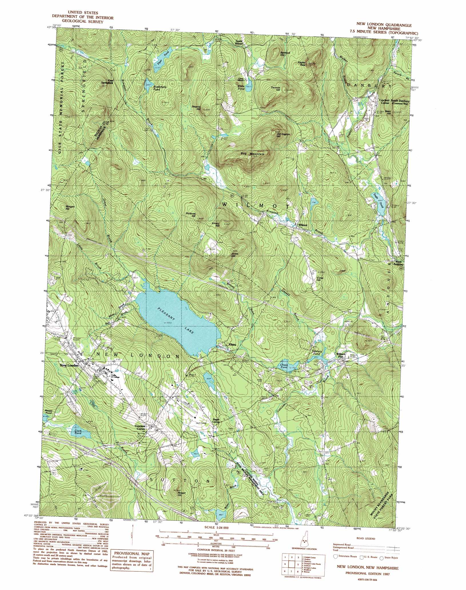 Topographic Map London.New London Topographic Map Nh Usgs Topo Quad 43071d8