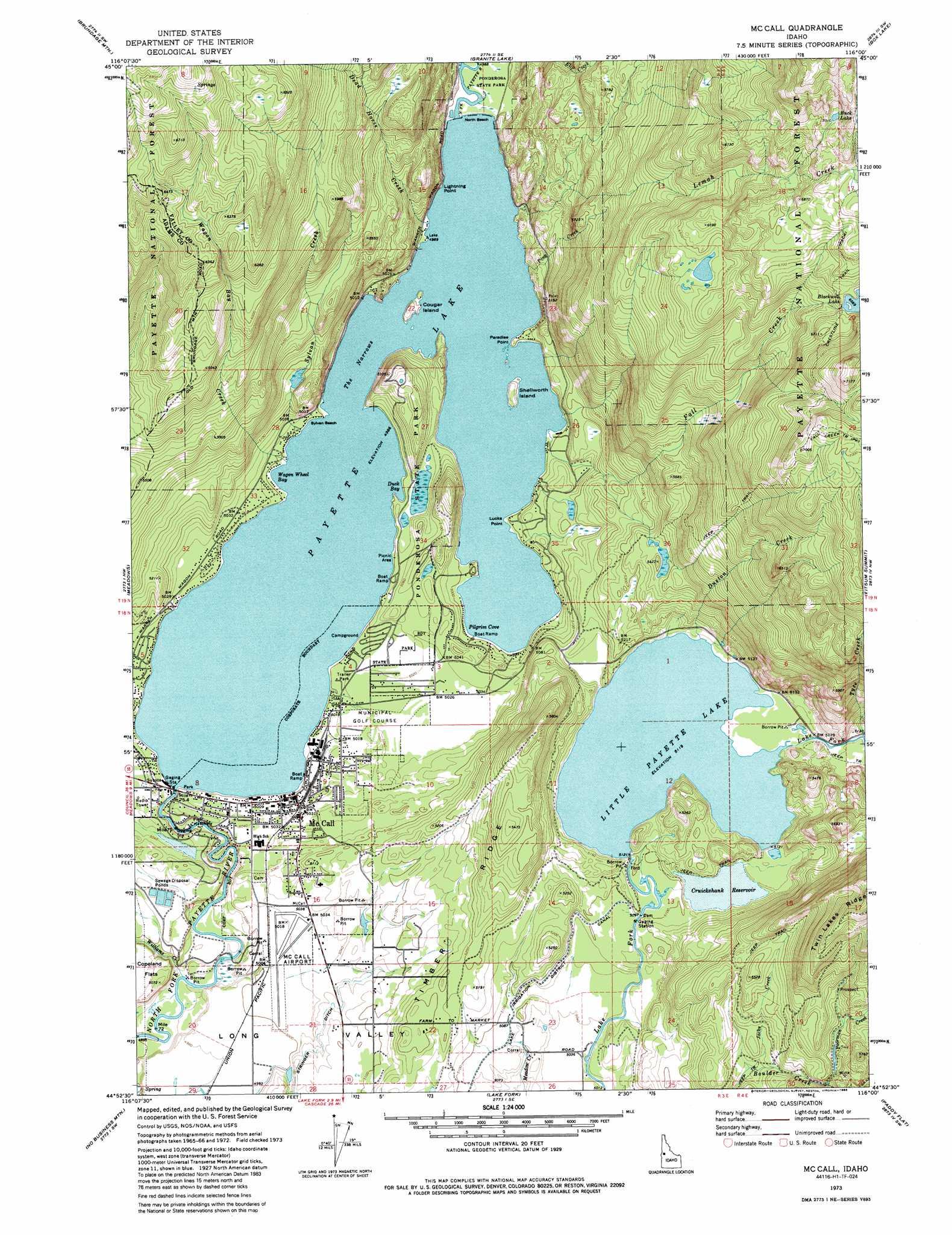 Us geological survey maps idaho