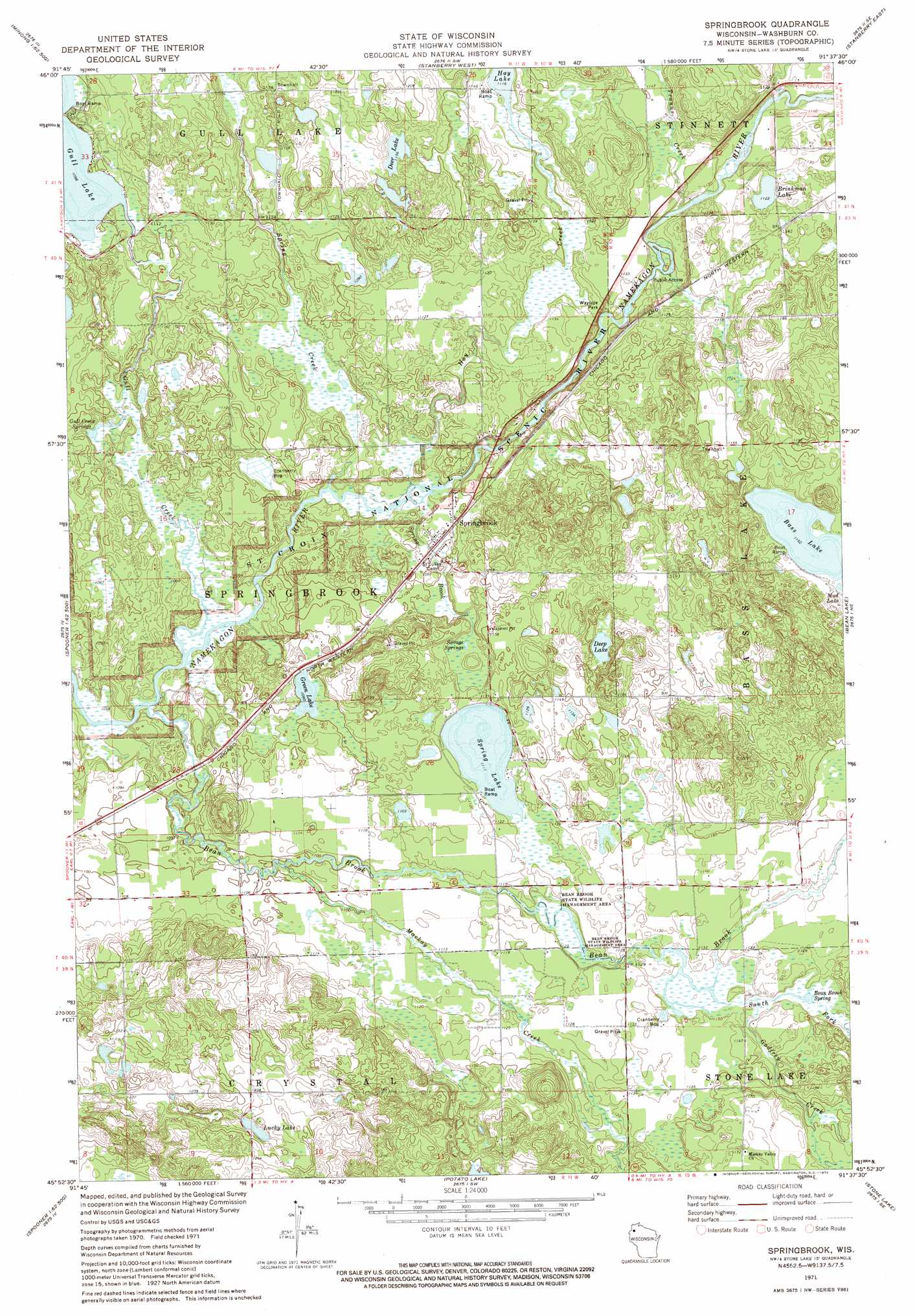 Springbrook topographic map, WI - USGS Topo Quad 45091h6 on la pointe wisconsin map, powers lake wisconsin map, sarona wisconsin map, tipler wisconsin map, danbury wisconsin map, washburn county wisconsin map, webb lake wisconsin map, minong wisconsin map, bayfield county wisconsin map, brantwood wisconsin map, birchwood wisconsin map, trego wisconsin map, hager city wisconsin map, long lake wisconsin map, stone lake wisconsin map, glidden wisconsin map, sawyer county wisconsin map, upson wisconsin map, spooner wisconsin map,