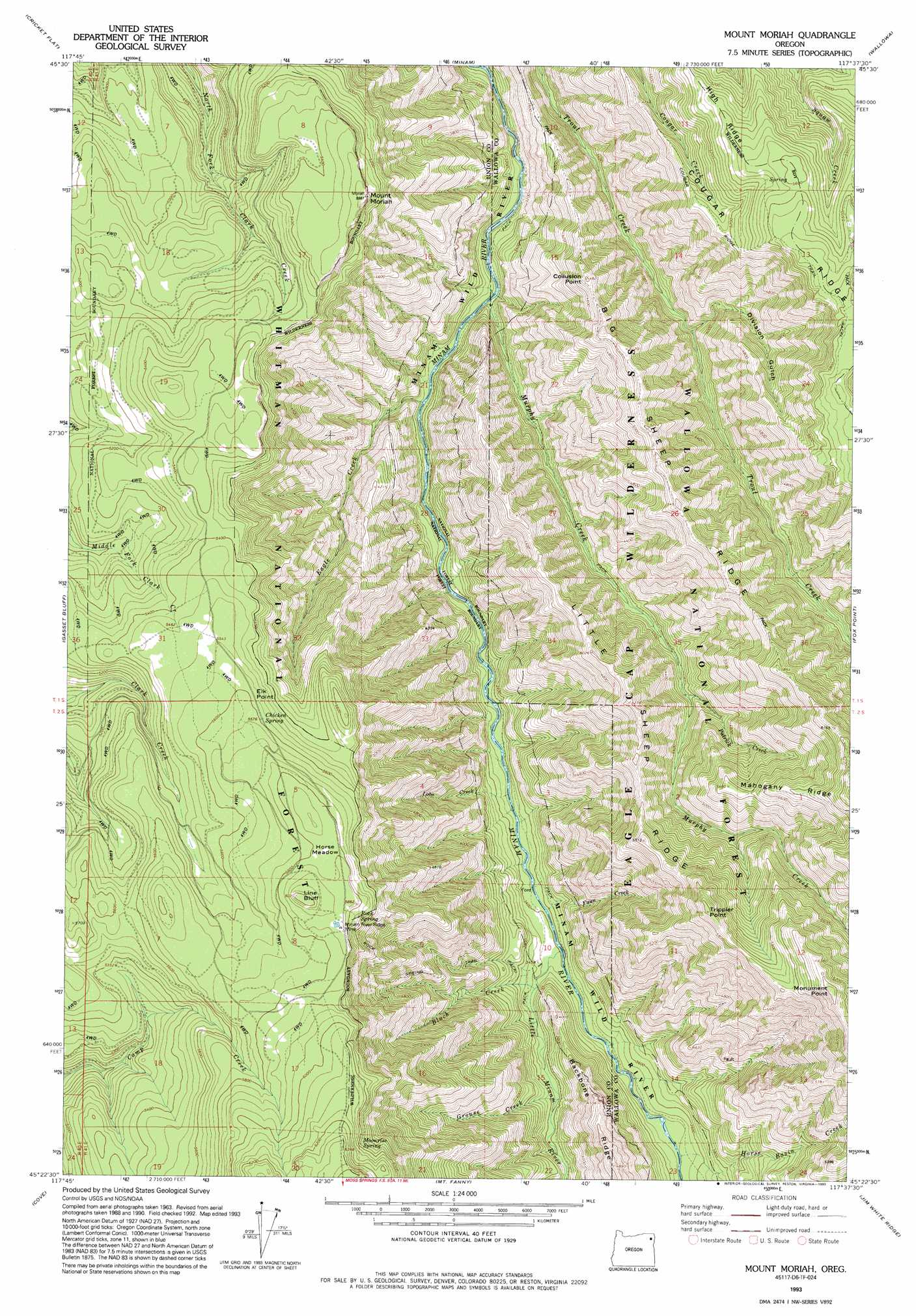 Mount Moriah topographic map, OR - USGS Topo Quad 45117d6 on carter notch map, carroll map, mount hermon map, mount ebal map, mount carrigain map, land of moriah map, st. john's map, mount calvary map, mount paran map, mount zion, huntington ravine map, the mount of olives map, monadnock state park trail map, mount shechem map, golgotha map, moriah trail map, mount chocorua map, obion county map, mount marathon map, temple mount map,