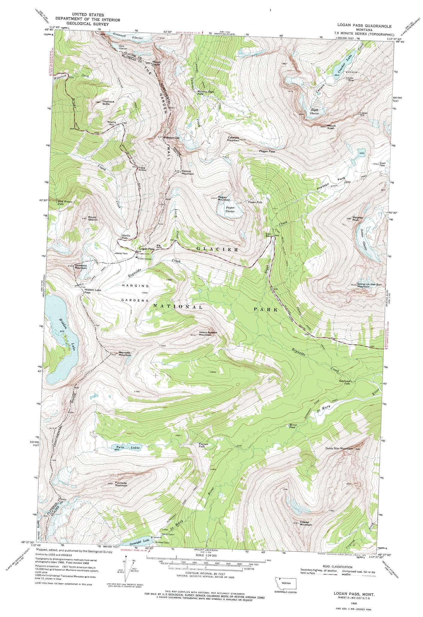 Montana Topographic Map Bnhspine Com