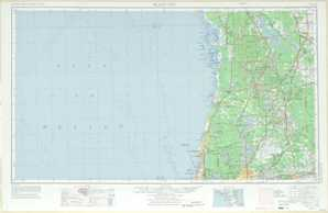Tarpon Springs / Plant City topographical map