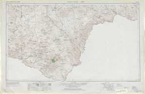 Emory Peak topographical map