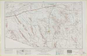 Ajo topographical map