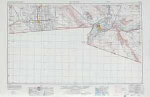 El Centro topographical map