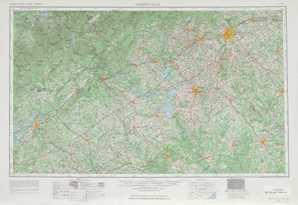 Greenville topographical map