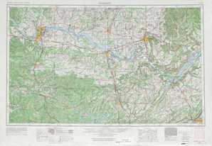 Gadsden topographical map
