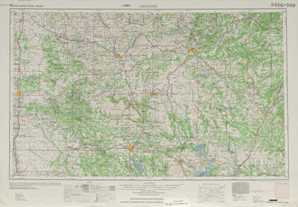 Ardmore topographical map