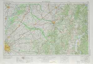 Blytheville topographical map