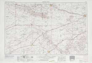 Dodge City topographical map